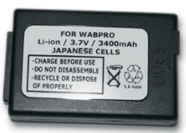 High Capacity Battery for PSION WORKABOUT PRO- 3400mAh