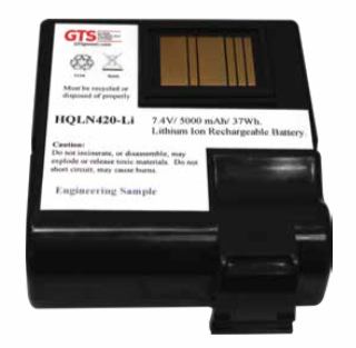 GTS Extended Battery for HONEYWELL® Dolphin 99EX - 5000mAh