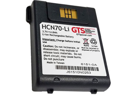 GTS Standard Battery for HONEYWELL Dolphin 6500 - 2200mAh
