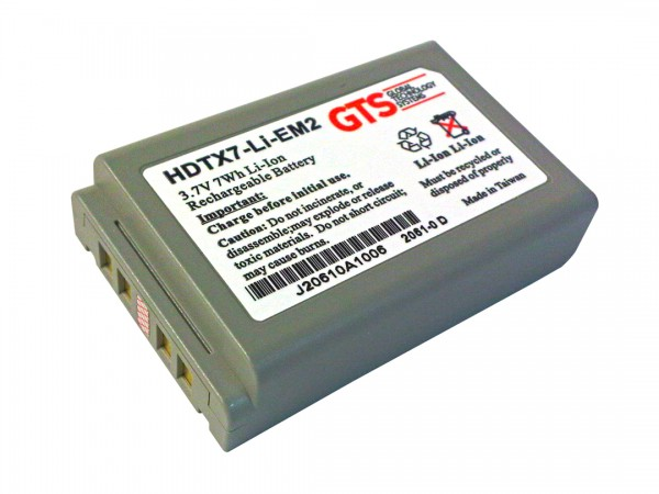 GTS® Battery for Casio DT-X7 / DT-X100 - 1900mAh